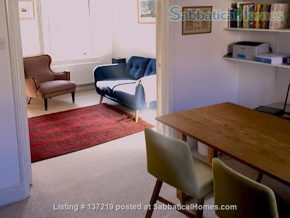 House in great location with lovely south facing outlook adjoining university playing fields. Home Rental in Cambridge, England, United Kingdom 0
