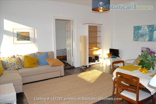 Berlin-Kreuzberg: Sunny 2-room apt. with  a wide view near the river bank Home Rental in Berlin, Berlin, Germany 1