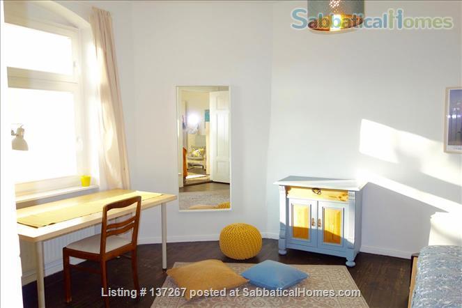 Berlin-Kreuzberg: Sunny 2-room apt. with  a wide view near the river bank Home Rental in Berlin, Berlin, Germany 2