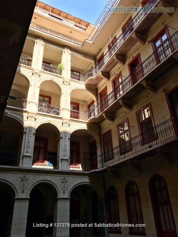 2 bedroom App in historical building between St. Stephans Basilika & Opera Home Rental in Budapest, , Hungary 0