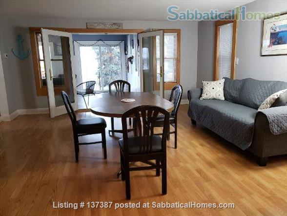 Entire 4 BR furnished waterfront home minutes to Michigan State University Home Rental in Meridian charter Township, Michigan, United States 1