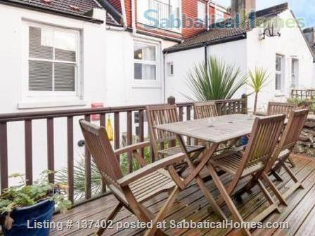 Beautiful and Spacious 4 bedroom family home with patio garden close to 7 dials Home Rental in Brighton and Hove, England, United Kingdom 4
