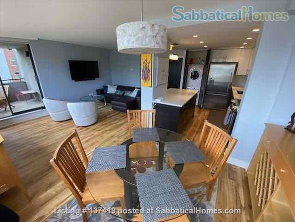 Fairview Vancouver Furnished Condo for Rent - Elegant 2 bedroom, 2 bath with lovely Decor and Modern Kitchen Home Rental in Vancouver, British Columbia, Canada 1