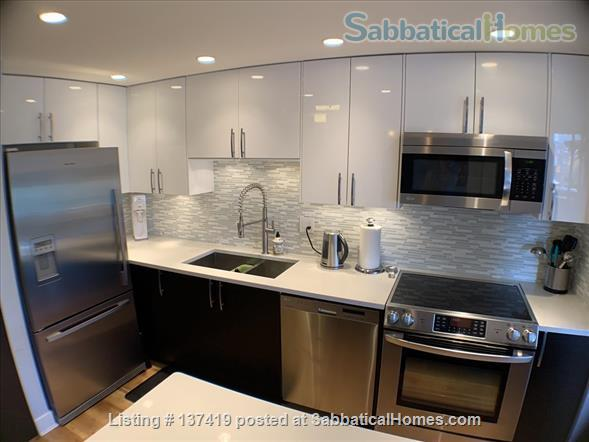 Fairview Vancouver Furnished Condo for Rent - Elegant 2 bedroom, 2 bath with lovely Decor and Modern Kitchen Home Rental in Vancouver, British Columbia, Canada 0