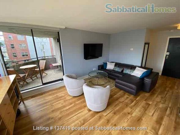 Fairview Vancouver Furnished Condo for Rent - Elegant 2 bedroom, 2 bath with lovely Decor and Modern Kitchen Home Rental in Vancouver, British Columbia, Canada 2