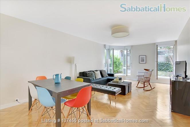 Kid & confinement-friendly, modern newly renovated 2-bed apt with private yard by Bastille/Marais Home Rental in Paris, IDF, France 1