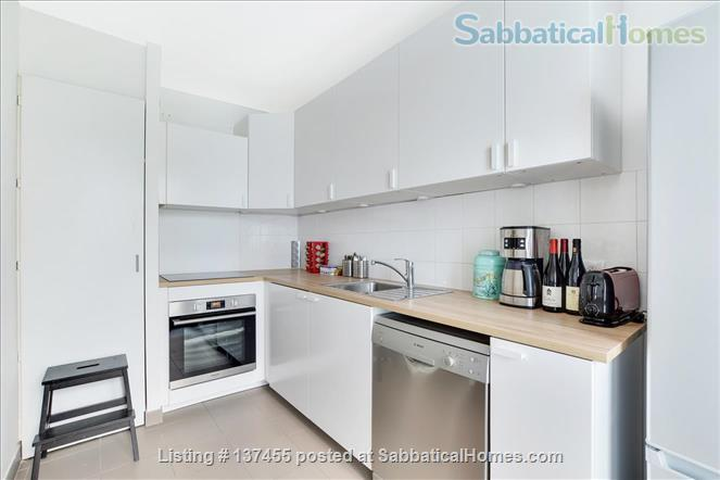 Kid & confinement-friendly, modern newly renovated 2-bed apt with private yard by Bastille/Marais Home Rental in Paris, IDF, France 2