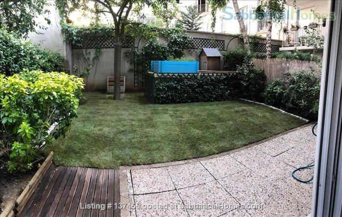 Kid & confinement-friendly, modern newly renovated 2-bed apt with private yard by Bastille/Marais Home Rental in Paris, IDF, France 8