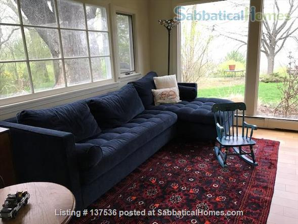 Three Bedroom Ranch in Cayuga Heights Overlooking Sunset Park Home Rental in Ithaca, New York, United States 2