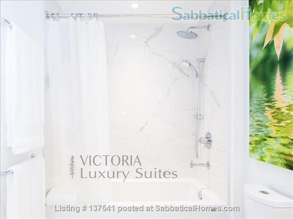 Luxury West Coast modern, furnished  1 bdrm suite, MONTHLY Rental  -  Beautiful walk to Ocean, Cook Street Village, Beacon Hill Park and to DT Victoria. Home Rental in Victoria, British Columbia, Canada 5