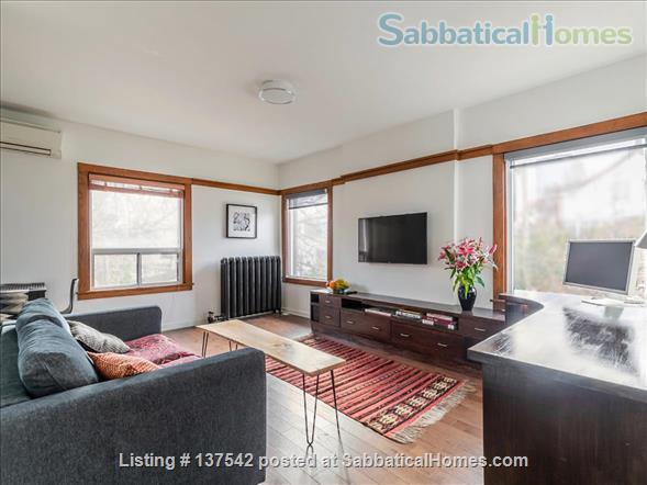 Furnished, modern, hotel-suite style 1 bedroom apartment in The Annex Home Rental in Toronto, Ontario, Canada 1