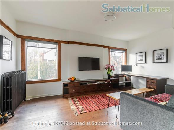 Furnished, modern, hotel-suite style 1 bedroom apartment in The Annex Home Rental in Toronto, Ontario, Canada 0