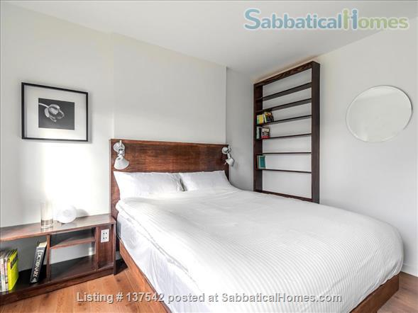 Fully furnished, modern,  hotel-suite style 1 bedroom apartment in The Annex Home Rental in Toronto, Ontario, Canada 4