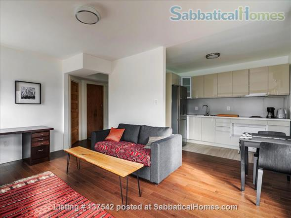 Furnished, modern, hotel-suite style 1 bedroom apartment in The Annex Home Rental in Toronto, Ontario, Canada 5