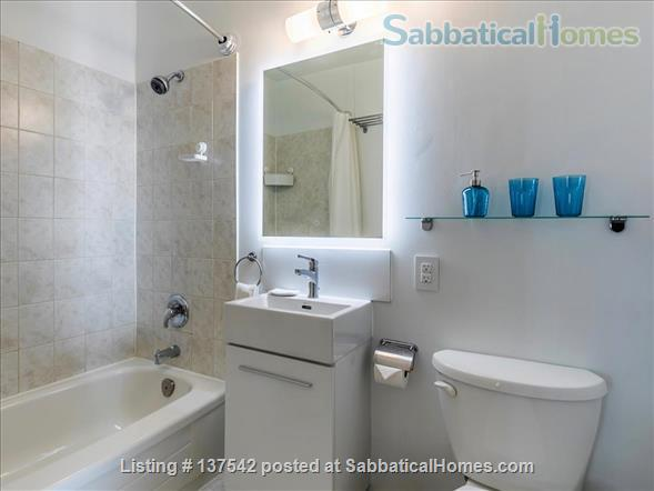 Furnished, modern, hotel-suite style 1 bedroom apartment in The Annex Home Rental in Toronto, Ontario, Canada 7