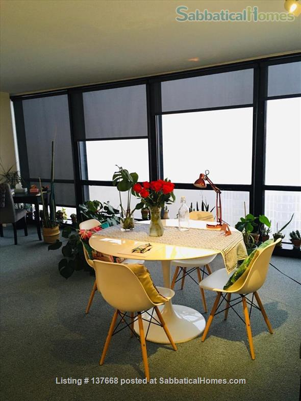 Mies van der Rohe apartment in downtown Chicago Home Rental in Chicago, Illinois, United States 5