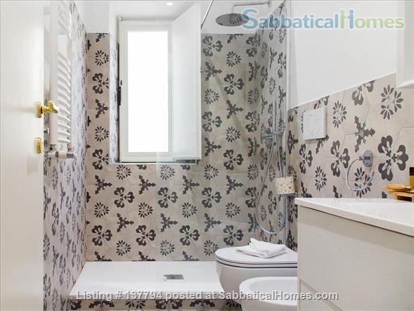 Terrace wonderful & spacious apartment in Rome city center Home Rental in Rome, Lazio, Italy 9