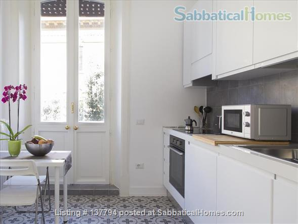 Terrace wonderful & spacious apartment in Rome city center Home Rental in Rome, Lazio, Italy 5