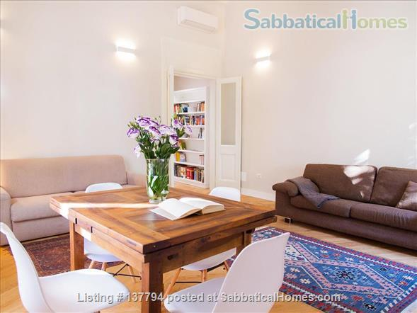 Terrace wonderful & spacious apartment in Rome city center Home Rental in Rome, Lazio, Italy 6