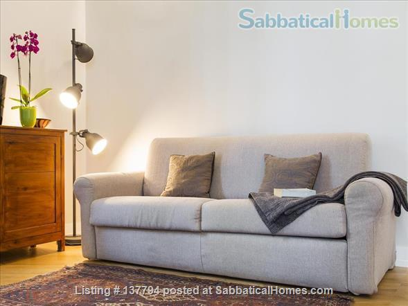 Terrace wonderful & spacious apartment in Rome city center Home Rental in Rome, Lazio, Italy 2