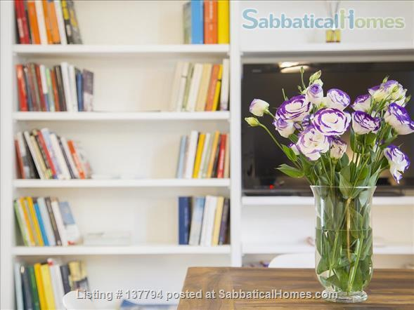 Terrace wonderful & spacious apartment in Rome city center Home Rental in Rome, Lazio, Italy 3