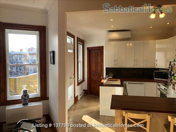 Bright and spacious top-floor 3BR condo in the heart of the Plateau Home Rental in Montreal, Quebec, Canada 1