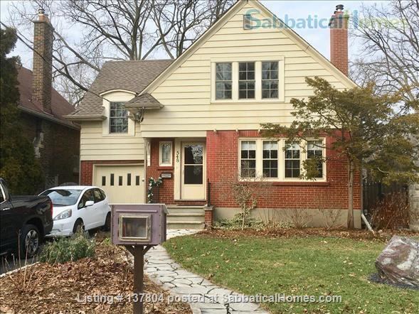 Welcome to our furnished home in Old North London! Home Rental in London, Ontario, Canada 1