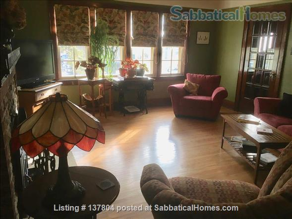 Welcome to our furnished home in Old North London! Home Rental in London, Ontario, Canada 3