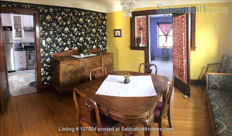 Welcome to our furnished home in Old North London! Home Rental in London, Ontario, Canada 4