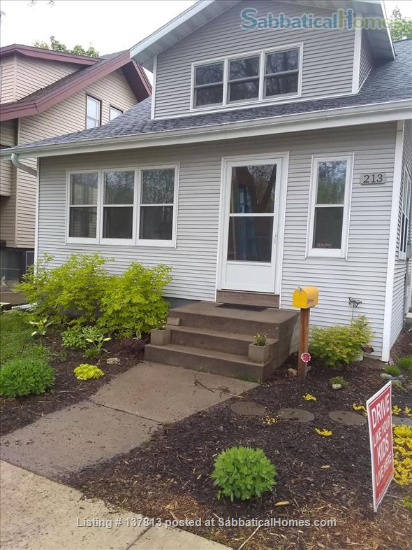 Beautiful Fully Restored Home on Madison's East Side Home Rental in Madison, Wisconsin, United States 1