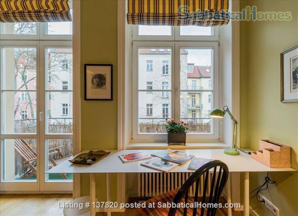 Luxury apartment in a prime location in Berlin Mitte (Prenzlauer Berg), Humboldt University, Universität der Künste, Charité, museums, operas, theaters Home Rental in Berlin, Berlin, Germany 0