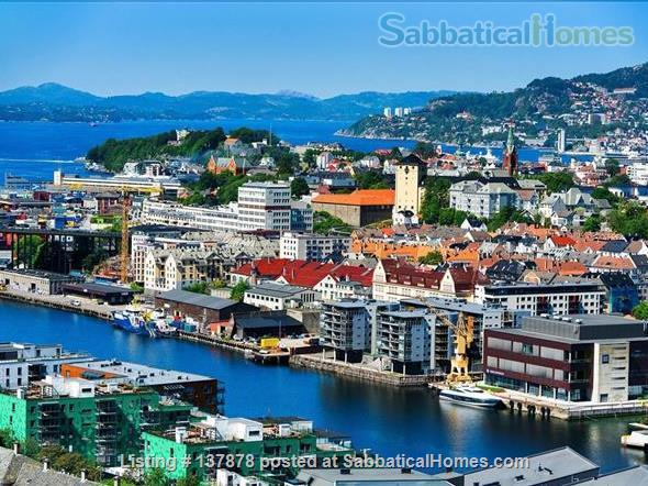 Large 3BR Central City Apartment With Spectacular View, childfriendly Home Rental in Bergenhus, Vestland, Norway 0