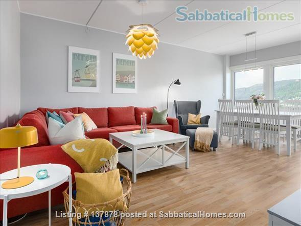 Large 3BR Central City Apartment With Spectacular View, childfriendly Home Rental in Bergenhus, Vestland, Norway 3