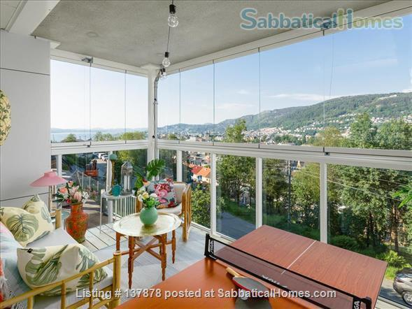 Large 3BR Central City Apartment With Spectacular View, childfriendly Home Rental in Bergenhus, Vestland, Norway 4