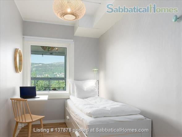 Large 3BR Central City Apartment With Spectacular View, childfriendly Home Rental in Bergenhus, Vestland, Norway 6