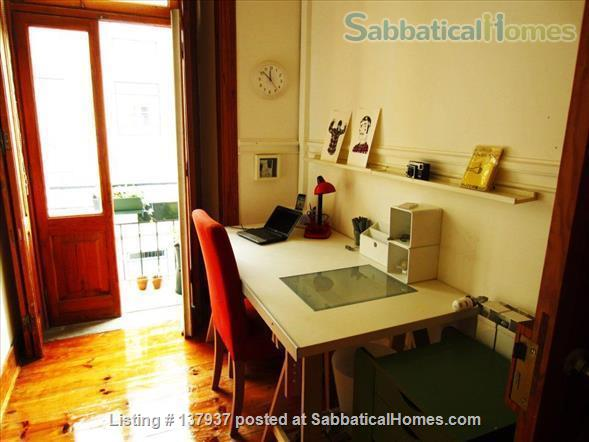 Apartment in Campo de Ourique, 2 Bedrooms+1 Office! Family friendly. Home Rental in Lisboa, Lisboa, Portugal 4