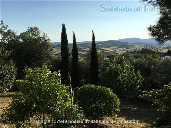 VILLA ISA WITH PARK IN MONTIANO -TUSCANY- MAREMMA-  12 KM FROM SEA SIDE Home Rental in Montiano, Toscana, Italy 1