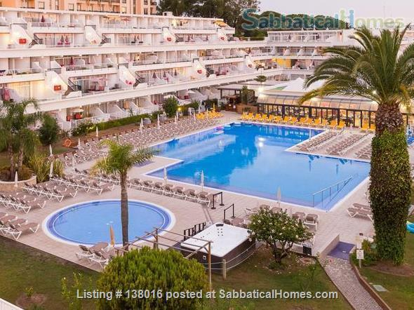 Family friendly studio apartment in Oura Beach Club, Algarve Home Rental in Albufeira, Faro, Portugal 1