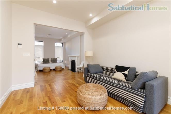beautiful spacious studio with outdoor space Home Rental in Ocean Hill, New York, United States 0
