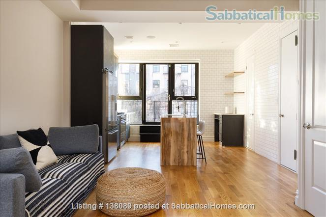 beautiful spacious studio with outdoor space Home Rental in Ocean Hill, New York, United States 3