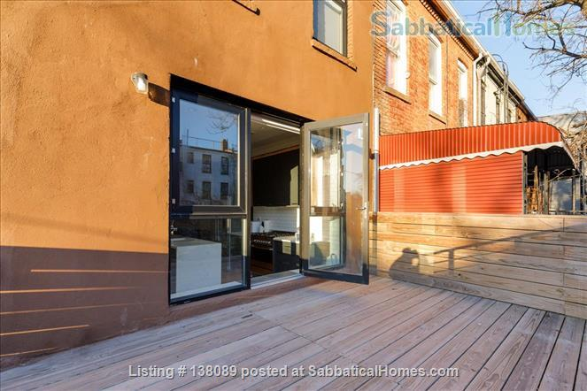 beautiful spacious studio with outdoor space Home Rental in Ocean Hill, New York, United States 6