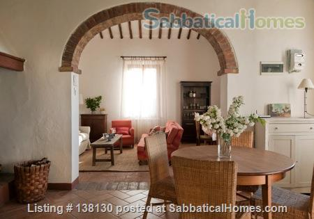 Delightful Traditional Farmhouse, Siena, Tuscany Home Exchange in Province of Siena, Tuscany, Italy 1