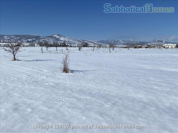 Beautiful location in rural Boulder County  20 minutes from Boulder Home Rental in Longmont, Colorado, United States 0