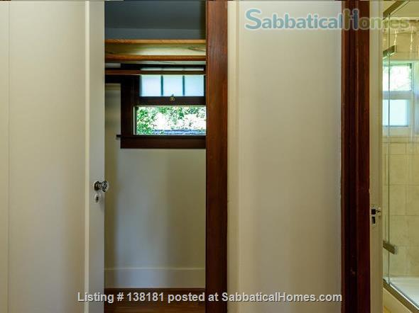 Garage apartment suitable for one person located in beautiful Old Palo Alto, CA Home Rental in Palo Alto, California, United States 9