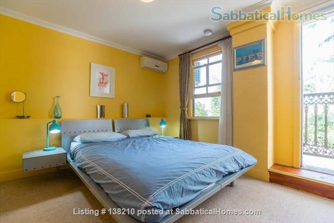 Historic 2 bedroom cottage, Newtown. Walkable creative  area. Walk to Sydney Uni, UTS, Notre Dame. Great lifestyle and transport at doorstep. 10 mins to city centre by train Home Rental in Newtown, NSW, Australia 1