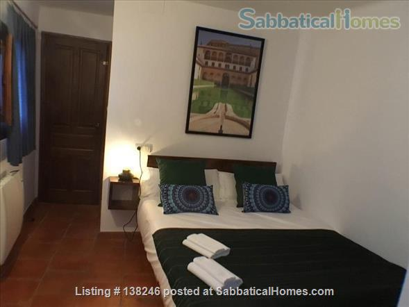 3 bed luxury apartment with Alhambra views  in Albayzín, Granada. Home Rental in Granada, Andalucía, Spain 3