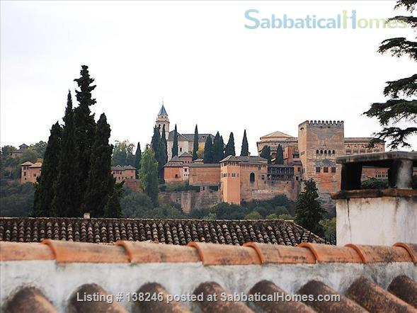 3 bed luxury apartment with Alhambra views  in Albayzín, Granada. Home Rental in Granada, Andalucía, Spain 8