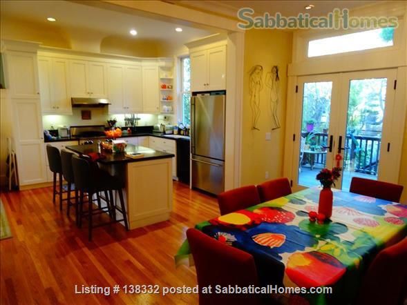 Lovely 3+ BR, 3.5 bath home in San Francisco Home Rental in San Francisco, California, United States 1