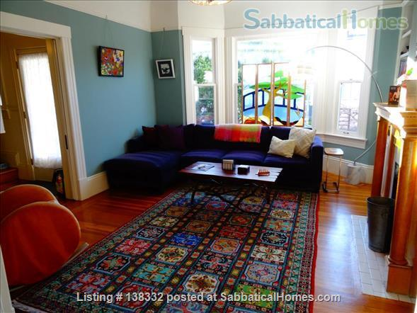 Lovely 3+ BR, 3.5 bath home in San Francisco Home Rental in San Francisco, California, United States 2