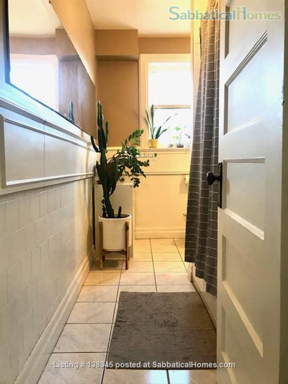 Sunny Bedroom Available in a Bright 2-Floor Apartment Home Rental in Toronto, Ontario, Canada 3